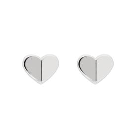 Hartvormige Dames Oorbellen van Edelstaal van Tommy Hilfiger TJ2780299