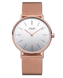 Basic 36 Dames Horloge met Milanese Band van M&M