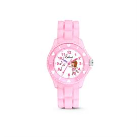 Zachtroze KIDZ Horloge met Ballerina van Colori Junior