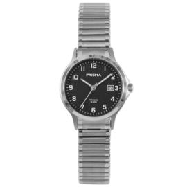 Titanium Dames Horloge van Prisma met Rekband