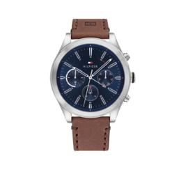 Heren Horloge met Bruin Leder van Tommy Hilfiger TH1791741