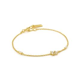 Goudkleurige Cluster Bracelet van Ania Haie