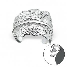 Zilveren Blad Ear Cuff 22160