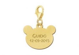Names4ever Gouden Berenhoofdje Naambedel GNB29