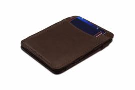 Bruine Magic Wallet RFID Portemonnee van Hunterson