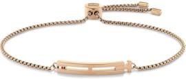 Roségoudkleurige Dames Armband van Edelstaal van Tommy Hilfiger