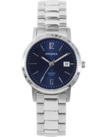 Prisma Horloge P.1475 Dames Classic Edelstaal