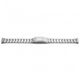 Horlogeband YF04 Schakelband Edelstaal 18x16mm