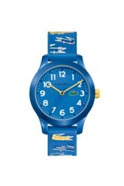 Lacoste Blauwe Kids Horloge met Decoratieve Blauwe Horlogeband