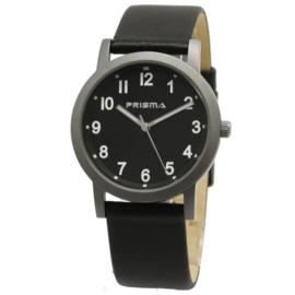 Classic Titanium Heren Horloge met Zwarte Horlogeband