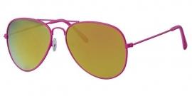 Aviator Zonnebril Neon Pink