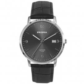 Prisma Heren P.1646 Horloge Edelstaal Saffierglas 5 ATM