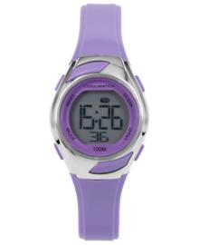 Cool Watch Digitaal Meisjes Horloge met Paarse Horlogeband