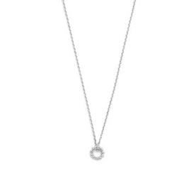 Zilveren Dames Collier rond 1,1 mm 41 + 4 cm