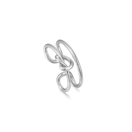 Ania Haie Forget me Knot Zilveren Ear Cuff
