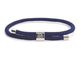 Blaauw Bloed Majestic Heren Armband – Blauw