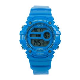 Blauw Digitaal Kids horloge van Q&Q