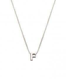 """Minioro Initiaal Collier """"F"""" Si-F"""