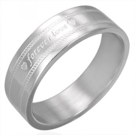 Graveer Ring forever love SKU5986