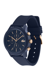 Lacoste Donkerblauw Heren Horloge met Blauwe Horlogeband