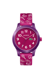 Speels Lacoste Roze Kids Horloge met Meerdere Decoraties