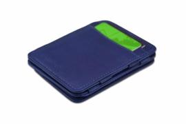 Luxe Blauwe Magic Wallet RFID Portemonnee van Hunterson