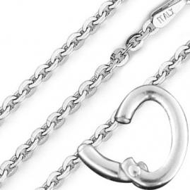 Jiving Eye-Can-Open Zilveren Collier
