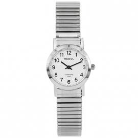 Prisma Horloge P.1815 Dames Rekband Edelstaal Saffierglas