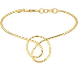 Geelgouden Spang Armband voor Dames
