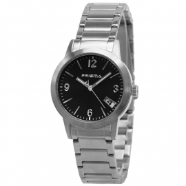 Prisma Horloge P.2193 Dames Classic Edelstaal