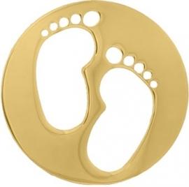 Baby voetjes munt / MY iMenso