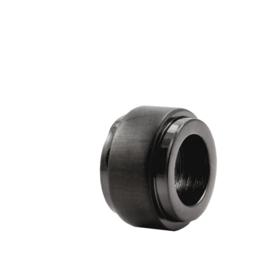 XS4M DISX Wheel Bedel in Zwarte Kleur