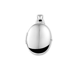 Ovaal Medaillon van Zilver 10.05523