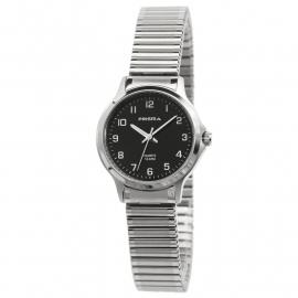 Prisma Dames Horloge P.8361 All Stainless Steel Rekband