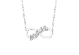 Names4ever Mathilda Model Infinity Ketting