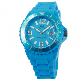 Blauw Horloge / Q&Q Horloges