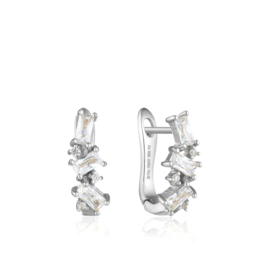 Cluster Huggie Earrings van Ania Haie