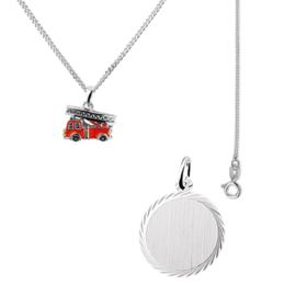 Gift Set | Ketting en Brandweer Hanger + Gratis Ketting!
