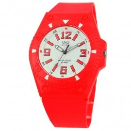 Rood Q&Q Horloge