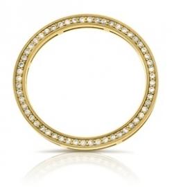Cirkel ornament met 56x zirkonia - Jiving MY iMenso 28-0085