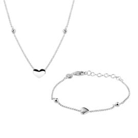 Zilveren Harthanger Gift Set