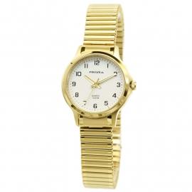 Prisma Dames Horloge P.8369 In Goudkleur