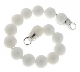 Parel-armband MY iMenso / Zoetwater Schelp 27-0513