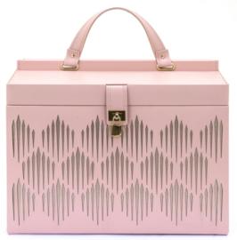 Grote Roze Gatsby Sieradendoos van Davidts