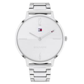 Tommy Hilfiger Dames Horloge  Liza met Witte Wijzerplaat