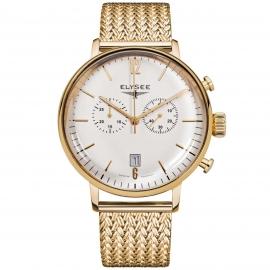 Elysee Heren EL.13273M Stentor Chronograaf Horloge Saffier