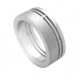 Gediamanteerde Ring van C MY STEEL
