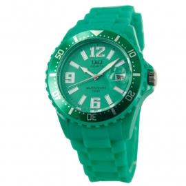 Kunststof horloge met datum / Q&Q Horloge by Citizen