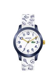 Speels Lacoste Wit Kids Horloge met Meerdere Decoraties