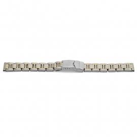 Horlogeband YG82 Schakelband Edelstaal Bicolor 20mm